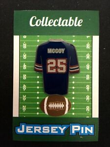 Buffalo Bills LeSean McCoy jersey lapel pin-Collectible-4 caps/shirts/jerseys