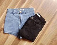 @ Tally Weijl @ Short blau + Jeans schwarz Size XXS Gr. 152/158 Age 10-11