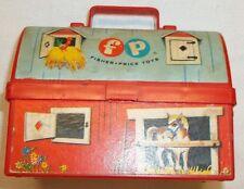 Vintage Fisher Price Barn Lunch Box #549 Aurora Ny 1962