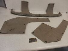 94 Kawasaki Jet Ski 650TS 650 TS PWC Genuine Hull Bumper Feet Pad Deck Gray Set