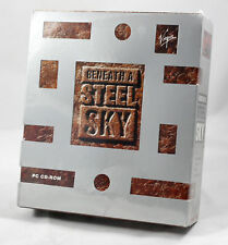 Vintage Big Box PC Sealed - Virgin / Revolution Beneath a Steel Sky BASS MINT