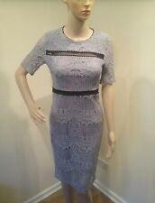 laser cut laser overlay midi dress size10 crossdresser or transvestite cds0151