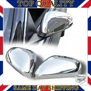 Chrome Mirror Cover 2 pcs STAINLESS STEEL For ALFA ROMEO GIULIETTA 2010-UP