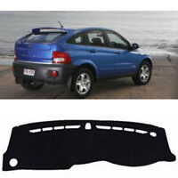 Dash Mat Cover Black Color for 2006 -2011 Ssangyong Actyon RH Drive