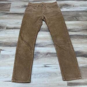 American Eagle Skinny Corduroy Jeans Pants Mens 29 x 32 Camel Tan