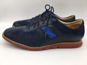 Cole Haan Grandspirit Sport Oxford II Men Shoes, Navy/Blue/Brick, C12707, SZ 12M
