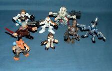 STAR WARS: GALACTIC HEROES; 8 FIGURES, (IG-88 & MORE) - HASBRO -  2004/2009