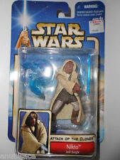 Star Wars 2001 AOTC Nikto Jedi Knight Arena Battle Collection #21 ~ New Misp