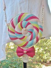 Betsey Johnson Retired Sweet Spinning Lollipop Crossbody Purse NWOT