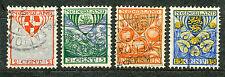 Nederland  199 - 202 gebruikt (2)