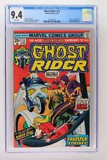 Ghost Rider #13 - Marvel 1975 CGC 9.4 Trapster, Stunt Master and Karen Page Appe