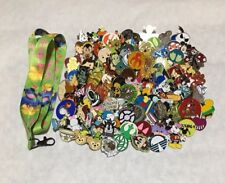 Disney Trading Pins lot of 50 US Seller -NO DOUBLES - Free Lanyard & 2 Free Pins