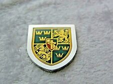 THE COATS OF ARMS OF THE GREAT MONARCHS OF HISTORY INGOT GUSTAV I FRANKLIN MINT