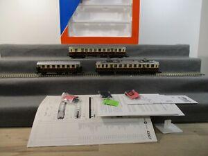 Roco H0 43007 Elektro-Triebwagen 3-teilig der DRG BR ET 85 Analog DSS in OVP