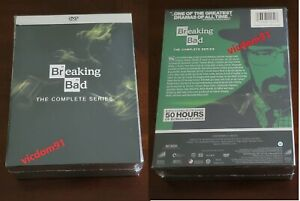 Breaking Bad: The Complete Series ( DVD, 21-Disc Box Set ) Brand New & Sealed