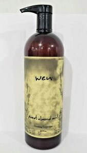 WEN by Chaz Dean Sweet Almond Mint Cleansing Conditioner 32OZ With Pump NEW