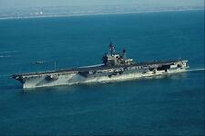 795023 USS KittyHawk CV 63 Home ported At San Diego California USA A4 Photo Prin