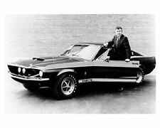 1967 Ford Shelby Mustang GT350 & Carroll Shelby Automobile Photo Poster zu1788-P