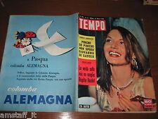 RIVISTA TEMPO 1959/12=EVA BARTOK=BRIGITTE BARDOT=INGRID BERGMAN=YUL BRYNNER=
