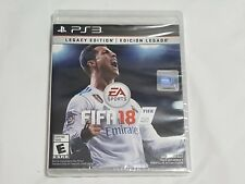 NEW FIFA 18 LEGACY EDITION Playstation 3 Game SEALED PS3 2018 Soccer US NTSC