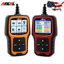 Auto OBD2 Scanner Tool I/M Readiness Check Engine Light Coder Reader ANCEL AD410