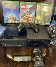 Microsoft Xbox One 500GB Black Console Bundle With 3 Games, Rechargeable Batt