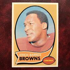 1970 Topps Set ERICH BARNES #8 CLEVELAND BROWNS - NR-MINT *HIGH GRADE*