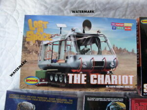 Lost In Space 2008 Model Kit # 902 Moebius Chariot 1:24 Sealed in Box