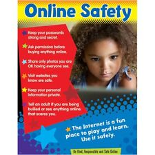 Online Safety (Primary) Learning Chart Trend Enterprises Inc. T-38645