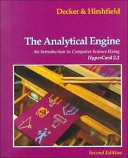 Analytical Engine:  An Introduction to Computer Science Using HyperCard 2.1 Com