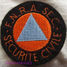 IN16258 - PATCH Féd. Nat. des RAdioamateurs au service de la SEcurité Civile