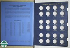 USED JEFFERSON NICKELS WHITMAN ALBUM #9410 - 1938 to 1964 - NO COINS