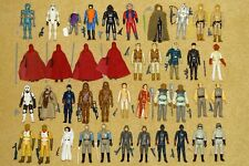 VINTAGE STAR WARS FIGURES WITH REPLICA WEAPONS - YOUR CHOICE