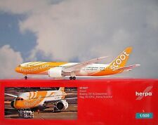 Herpa Wings 1:500  Boeing 787-8  Scoot  9V-OFG  531627  Modellairport500
