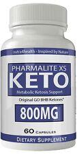 Pharmalite XS Keto Diet Pills Advanced Weight Loss Pills Supplement Keto Burn...