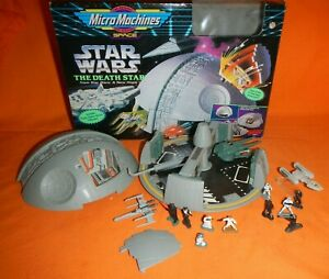 MICRO MACHINES STAR WARS THE DEATH STAR, GALOOB 1994, Extras