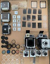 2 Linhof Technika Cameras, 4 extra lenses, +MUCH MORE!! NO RESERVE