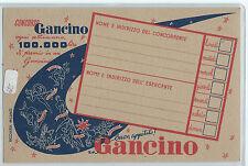 CARTOLINA CONCORSO GANCINO 602/A