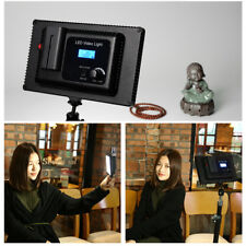 Ultra Thin LED Video Light Panel Lamp Dimmable For DSLR Camera Camcorder Video