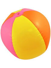 Inflatable Beach Ball 60cm Hawaiian Fancy Dress Holiday Pool Party Festival New