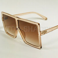 XXL Oversized Big Large Huge Square  Fashion Betty Designer Women Men Sunglasses