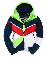 NEW RRP£159.99 MENS SUPERDRY 3XL MOUNTAIN RANGE PUFFER JACKET GREEN/RED/BLUE/OFF