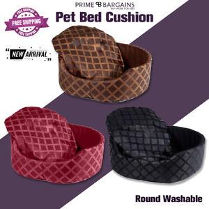 Luxury Soft Puppy Pet Bed Mattress Fleece Basket Mat Cushion For Cat Dog Kitten