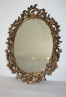 "Vintage Gold Ornate Syroco Wall Mirror 18.5"" x 28"""