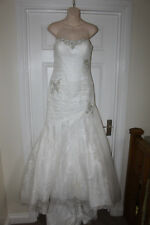 Mori Lee Wedding Dress Size 10 Princess Fairytale White Ivory Bridal Gown
