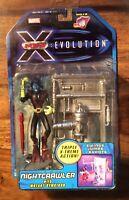 X men Evolution Nightcrawler with Mutant Gymcisor Action Figure Unopened Boxed