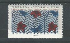 Tissu inspiration Africaine  NEUFS ** ADHESIFS PROS année 2019