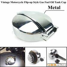 Motorcycle Gas Fuel Tank Oil Tank Cap Cover Lock For Honda GL CB 125 450 650 750