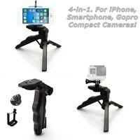 Folding Mini Tripod Stand Handheld Pistol Grip For Phone iPhone DSLR Camera Gopr