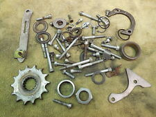 1994 KTM 300 MXC Motor engine hardware odd parts lot case bolts etc. 94 300MXC